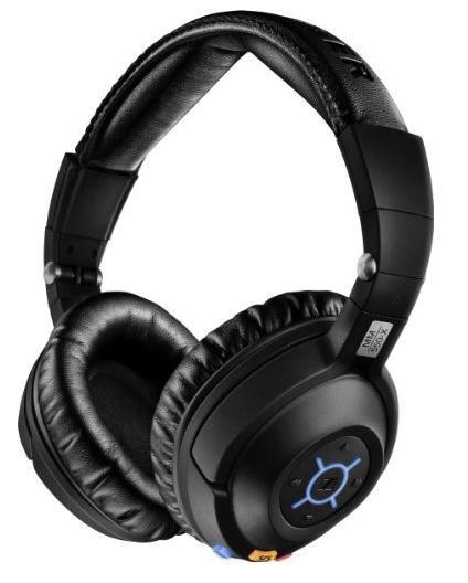 Casque sans fil Bluetooth Sennheiser MM 550-X à réduction de bruit active - APTX + Étui