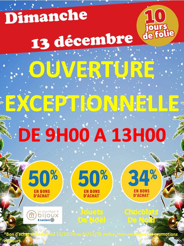 Sélection de rayons en promotion - Ex : 50% offerts en bon d'achat sur le rayon Jouets - Bruges (33)