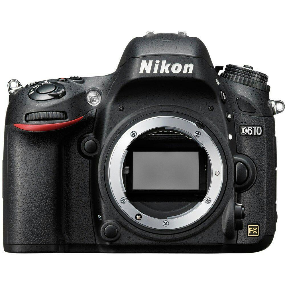 Reflex full frame Nikon D610
