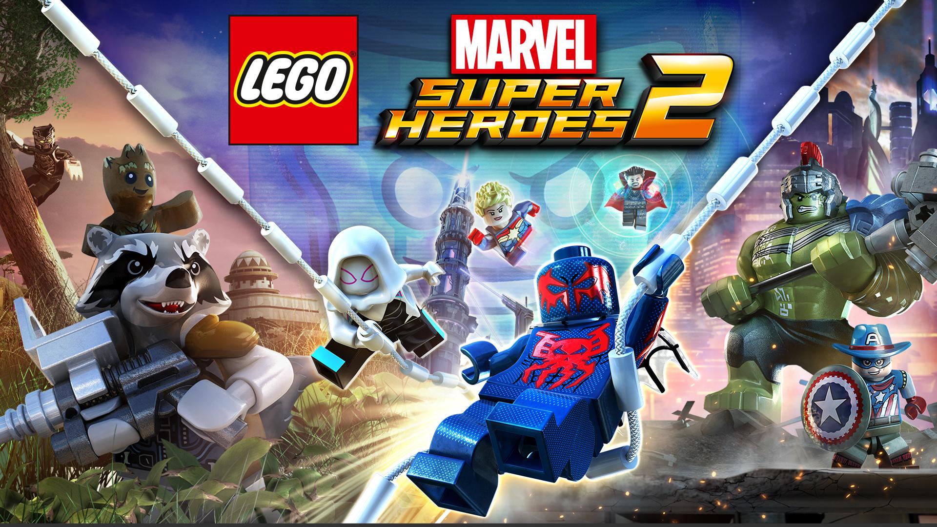 Jeu Lego Marvel Super Heroes 2 sur Nintendo Switch (Dématérialisé, eShop US)