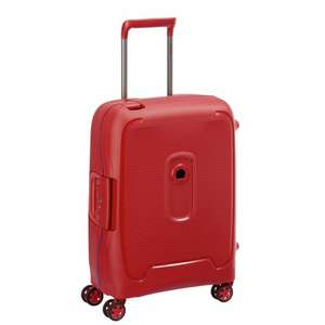 Valise cabine 4roues Delsey Moncey - rouge