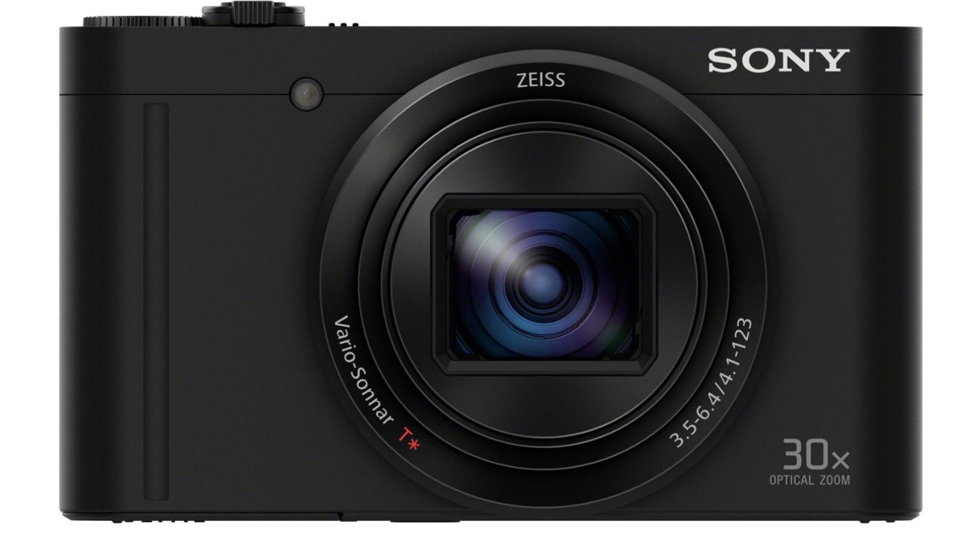 appareil photo numérique compact Sony DSCWX500B - Capteur CMOS Exmor R 18.2 Mpix, Zoom Optique 30x