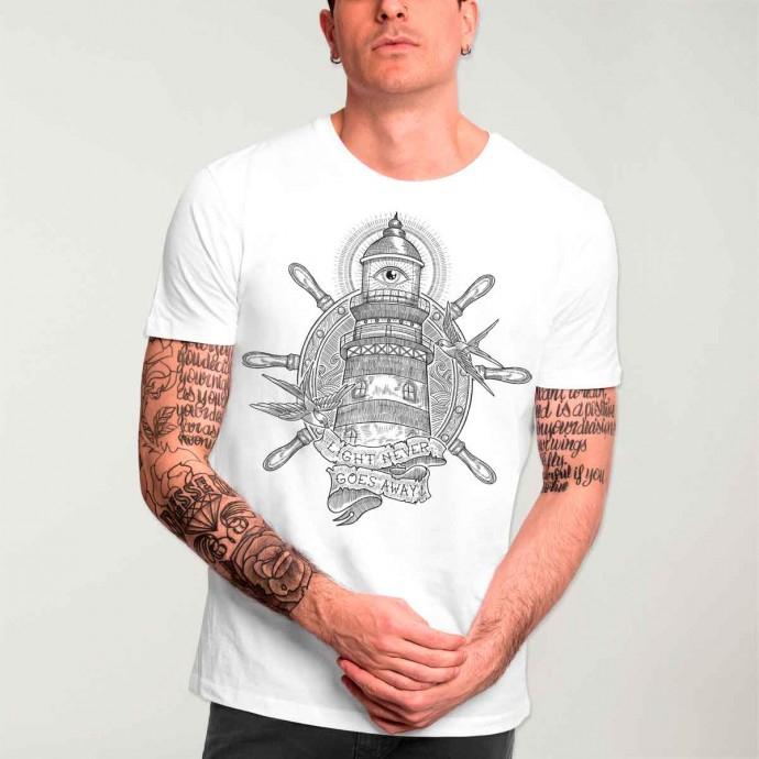 25% de réduction sur tout le site Viento (promotions incluses) - Ex : tee-shirt Sketch Lighthouse (du S au XXL) - VientoClothing.com