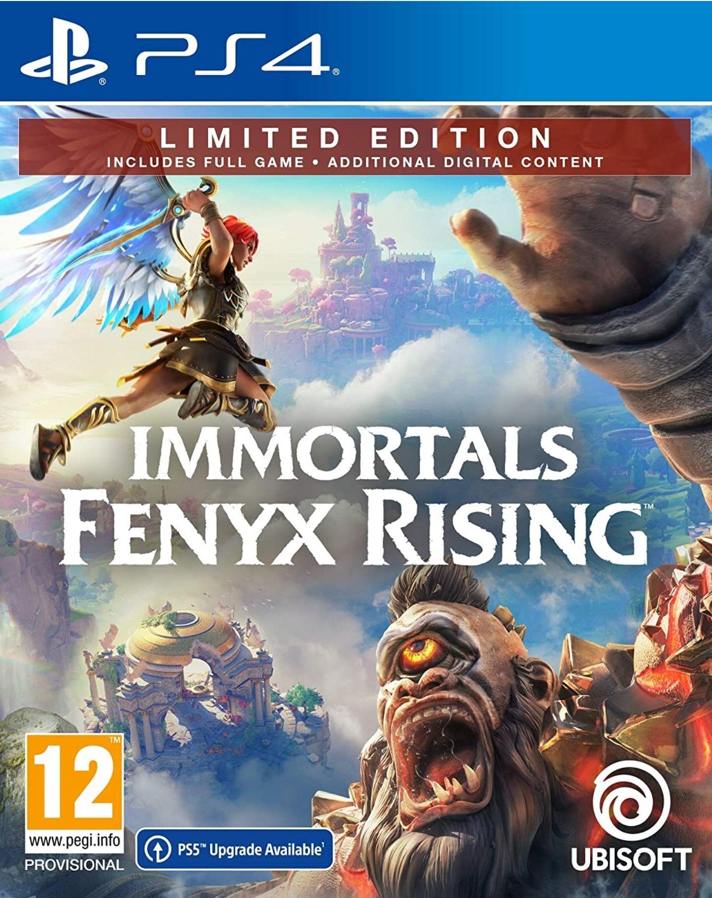 Immortals Fenyx Rising Limited Edition sur PS4/XBOX ONE (Mise à niveau PS5/XSX inclus)