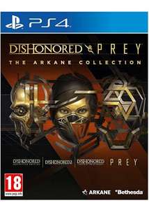 Dishonored and Prey: The Arkane Collection sur PS4