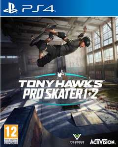 Tony Hawk's Pro Skater 1+2 Remastered sur PS4 ou Xbox One
