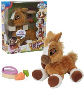 Peluche interactive Emotion Pets - Mon Poney Toffee