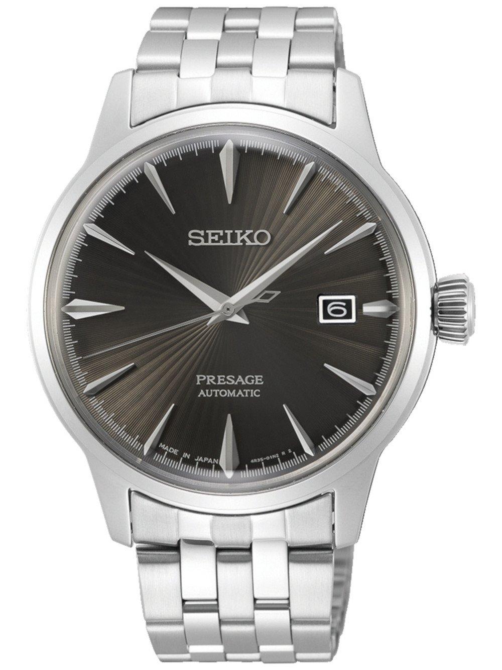 Sélection de montres en promotion - Ex : Seiko Presage Mechanik Automatic New Cocktail Time SRPE17J1 - TimeShop24.com