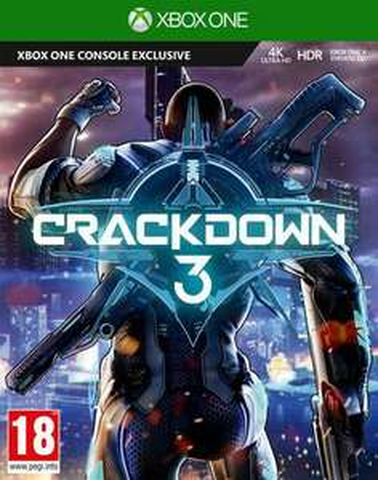 Crackdown 3 sur Xbox One
