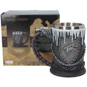 2 Chopes ou Calices Game of Thrones pour 33.99€