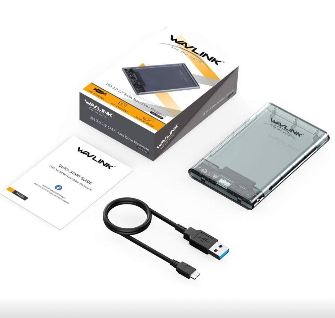 """Boîtier externe pour Disque dur & SSD 2.5"""" Wavlink (Vendeur tiers)"""