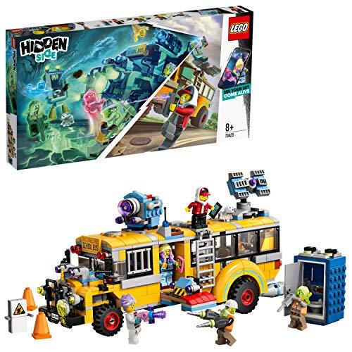 Jeu de construction Lego Hidden Side - Le bus paranormal n°70423