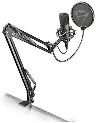 Microphone USB Trust Gaming GXT 252+ Emita Plus + Bras articulé