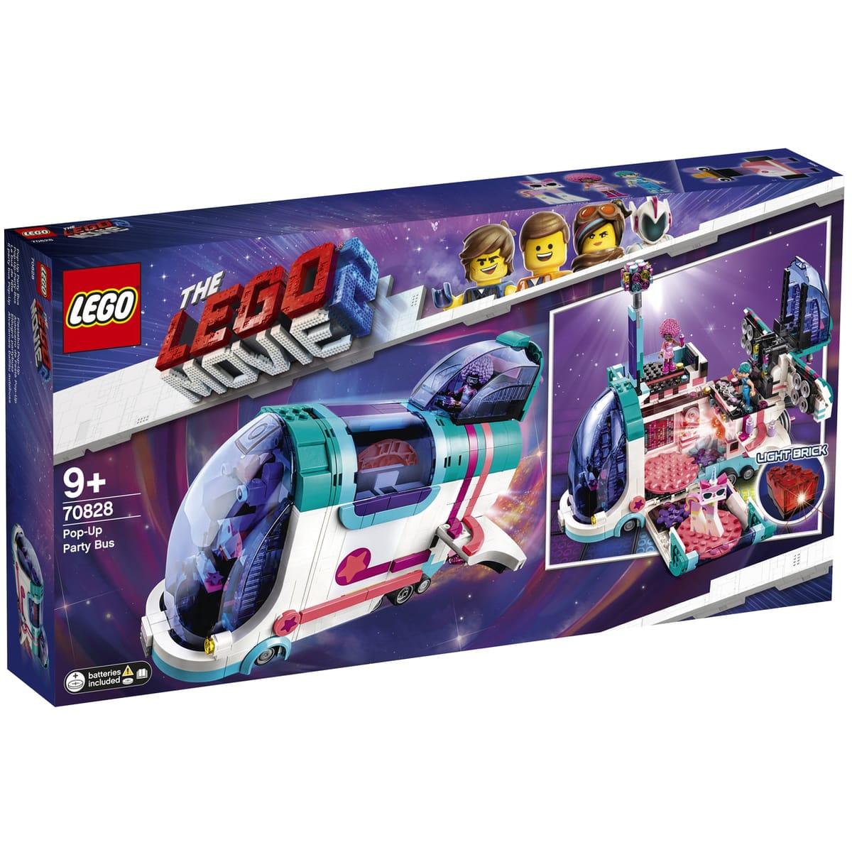 Sélection de jouets en promotion - Ex : Lego Movie 70828 - Le bus discothèque