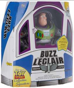 Figurine interactive Lansay Toy Story Signature collection - Buzz l'Eclair