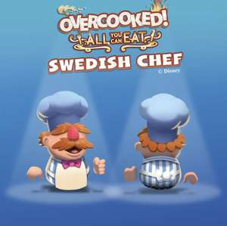 DLC Overcooked! All You Can Eat - Swedish Chef Gratuit sur PS5 / Xbox Series S/X (dématérialisé)