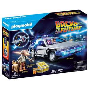 Jouet Playmobil Back To The Future Delorean n°70317