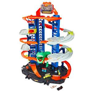 Circuit Hot Wheels City Super Dino Robot Garage (GJL14)