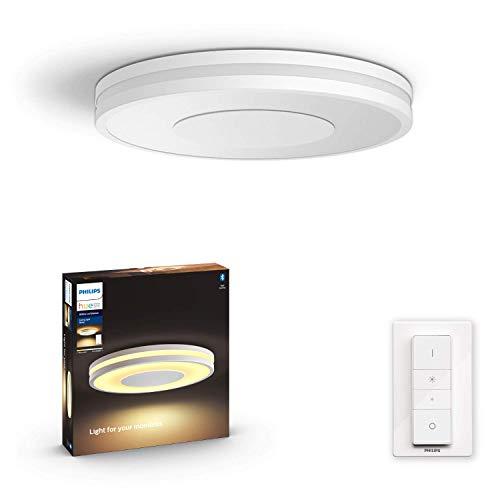 Plafonnier LED connectée Philips Hue White Ambiance + interrupteur Dimmer Switch