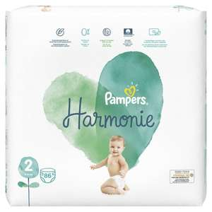 Paquet de 86 Couches Pampers Harmonie - Taille 2