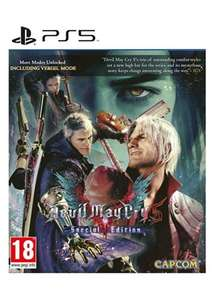 Devil May Cry 5 Special Edition sur PS5 & Xbox Series (27.07€)