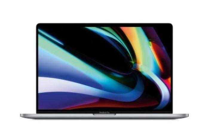 "PC Portable 16"" Apple Macbook Pro 16 Touch Bar - Intel Core i7, 16 Go de Ram, 512 Go SSD, Radeon Pro 5300M 4 Go"