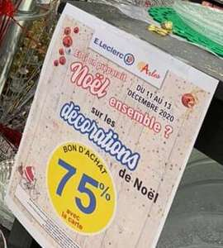 75% offerts en bon d'achat sur les décorations de Noël - Arles (13)