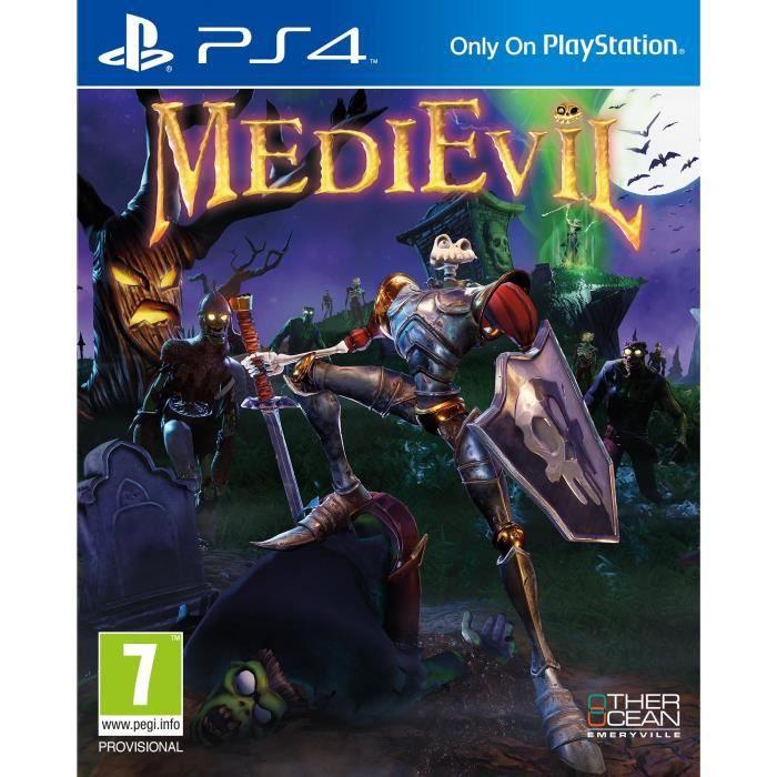 Jeu Médiévil sur PS4