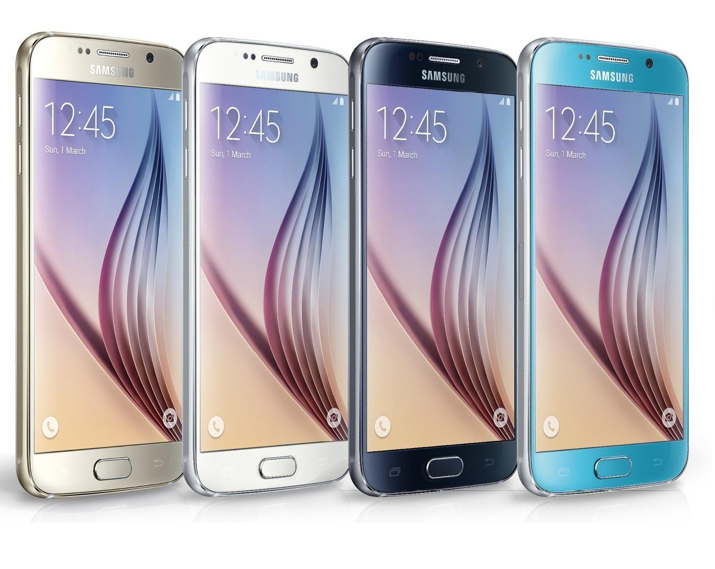 "Smartphone 5.1""  Samsung Galaxy S6 SM-G920F 32 Go"