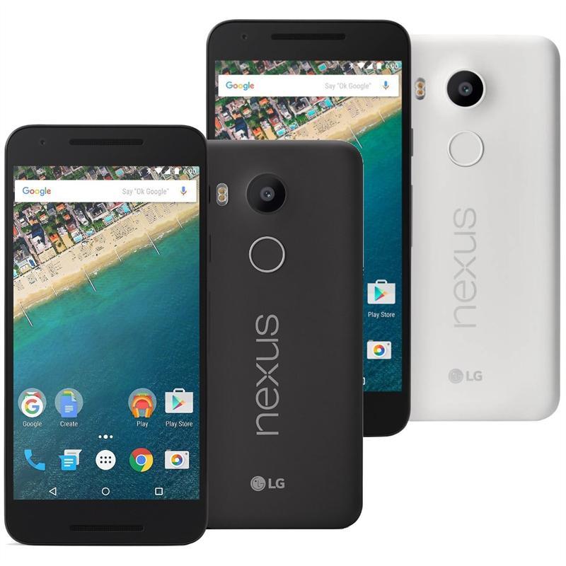"Smartphone 5.2"" LG Nexus 5X Noir ou Blanc - 16 Go"