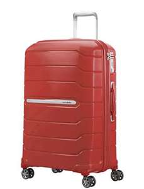 Bagage cabine Samsonite Flux - Spinner - 85L, Rouge