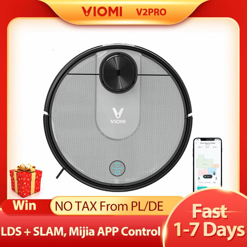 Aspirateur robot Viomi V2 Pro 2 Slam (286,73€ avec le code FRDEC8)