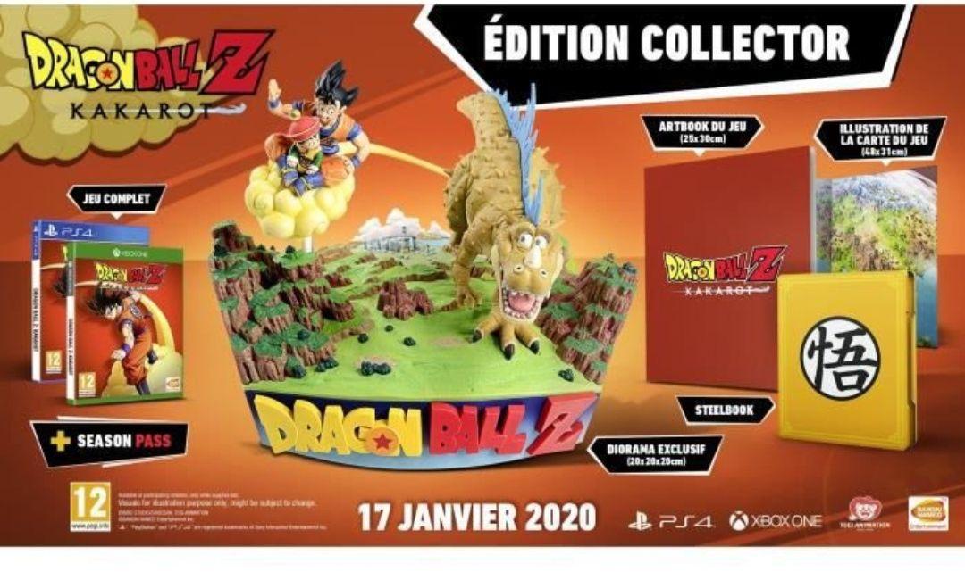 Dragon Ball Z Kakarot Collector sur PS4
