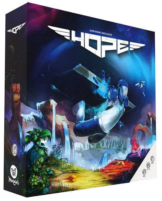 Sélection de jeux de plateau en promotion jusqu'à -70% - Ex. HOPE, d'Olivier Grégoire (espritjeu.com)