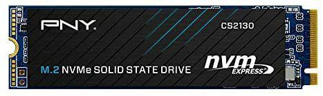 SSD Interne M.2 NVMe PNY CS2130 - 1 To (3500 Mo/s en lecture - 1800 Mo/s en écriture)