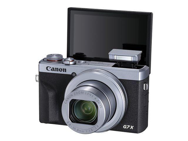 Appareil photo compact Canon PowerShot G7 X Mark III argent