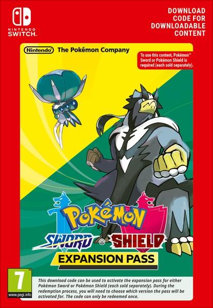 Pass extension Pokémon Épée ou Bouclier sur Nintendo Switch (Dématérialisé)