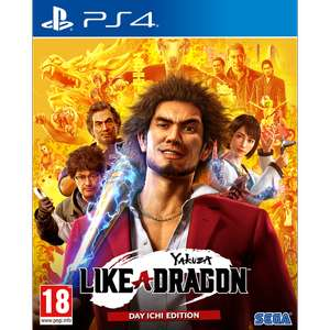 Jeu Yakuza Like a Dragon - Day Ichi Steelbook Edition (PS4 ou Xbox One)