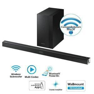 Barre de son sans fil 300W  Samsung  HW-J450 Bluetooth (+ 44.99€  en 2 bons d'achats  et via ODR de 10%)