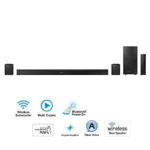 Barre de son + 2 enceintes sans fil Samsung  HW-J470 (+134.99€ en 2 bons d'achats et via ODR de 10%)