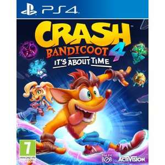 Crash Bandicoot 4: It's About Time! sur PS4 ou Xbox One + Tote bag