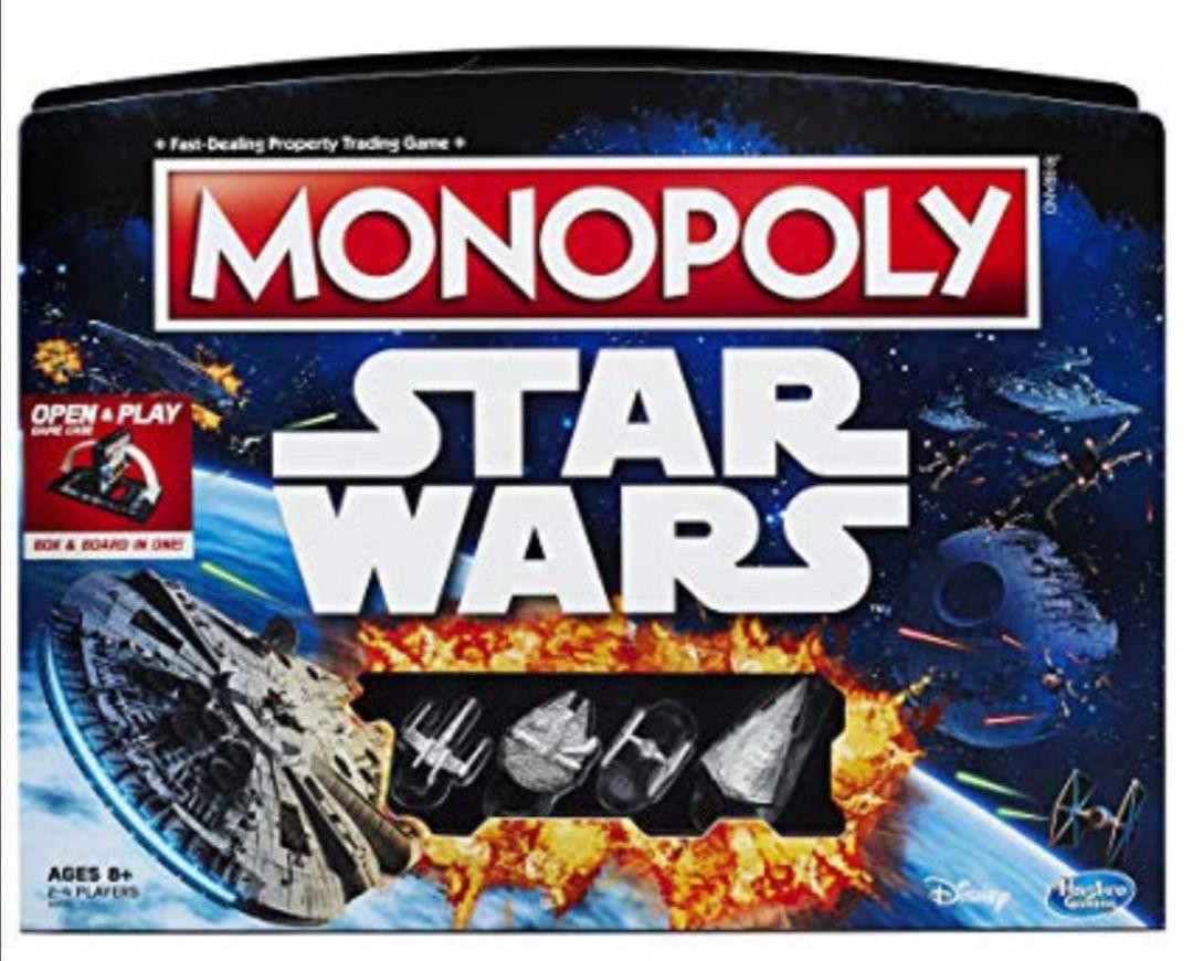 Jeu de société Monopoly Open & Play - Edition Star Wars