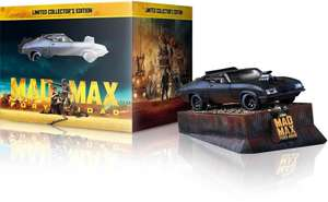 Coffret Blu-ray 3D + Blu-ray 2D + DVD + Copie digitale + Voiture collector Mad Max : Fury Road - Edition limitée