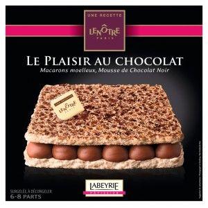 Gâteau Lenôtre Labeyrie Le plaisir au chocolat - Différentes variétés disponibles