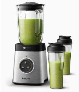 Blender Philips Avance Collection HR3655/00 - 1400 W, Bol en Tritan 2.2 litres, 2 gourdes