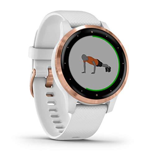 Montre connectée de sport Garmin Vivoactive 4S - Rose, GPS