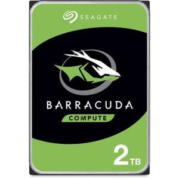 "Disque dur interne 3.5"" Seagate BarraCuda (ST2000DM008) - 2 To"