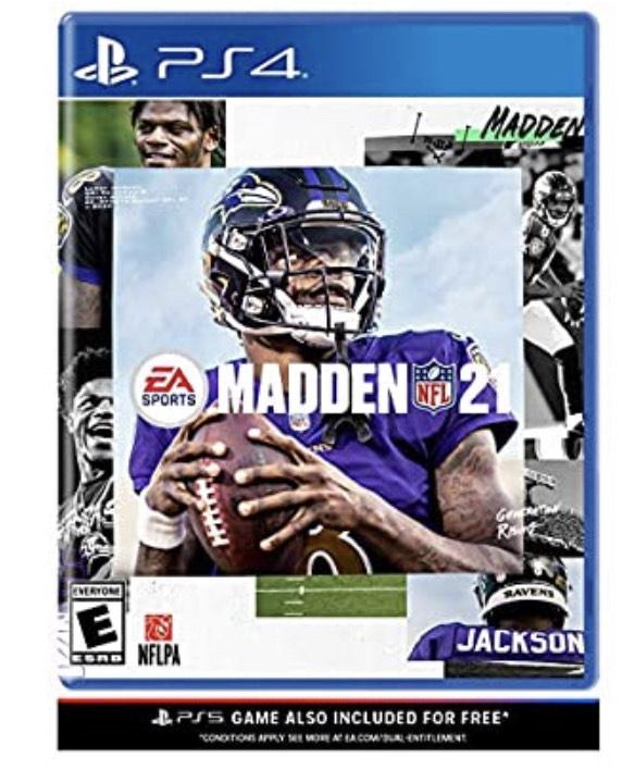 Madden NFL 21 sur PS4 & PS5 (frais de livraison compris)
