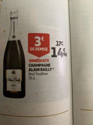Bouteille de Champagne Alain Bailly - 75 cl