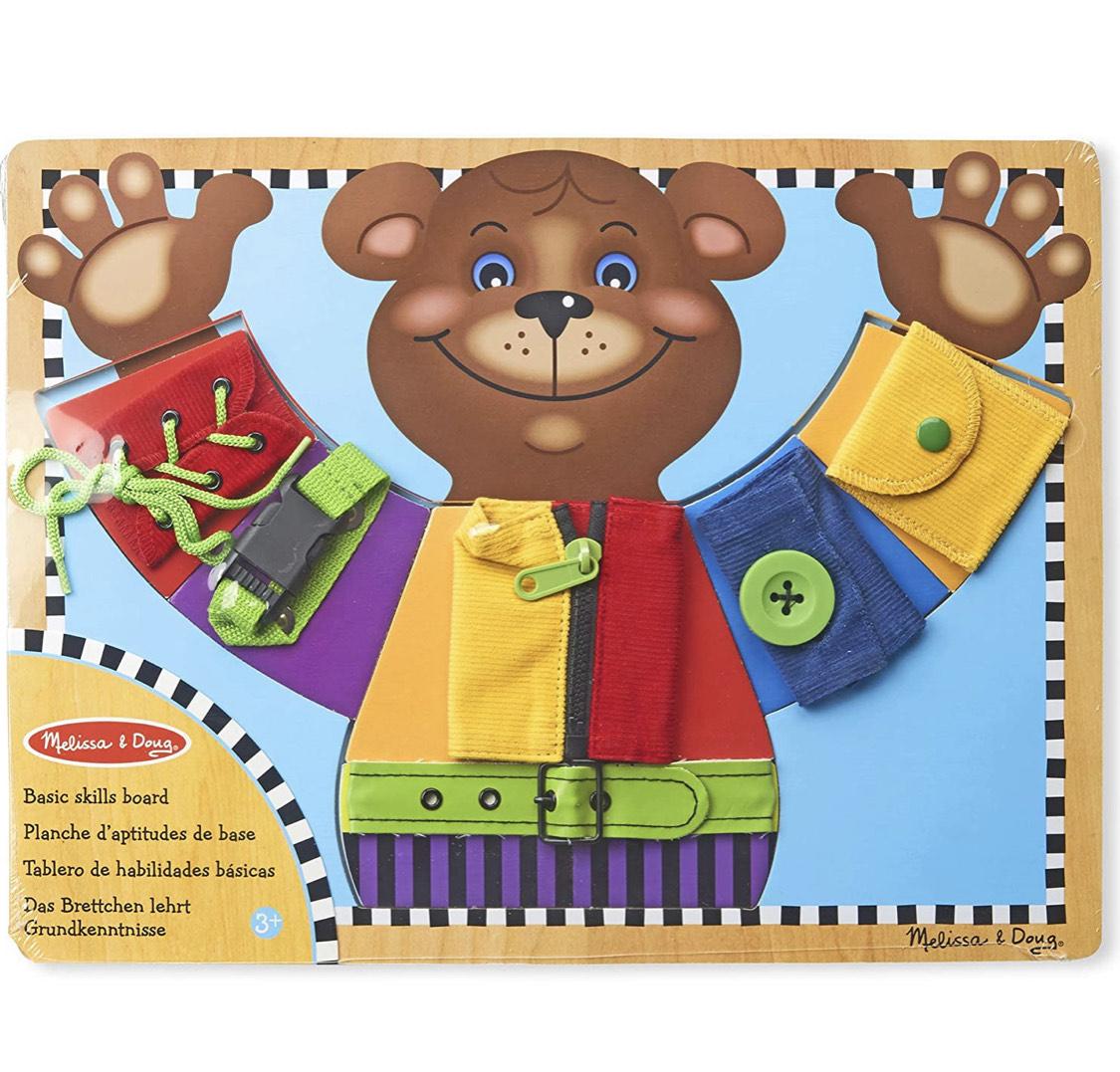 Planche d'aptitudes pour enfants Melissa & Doug